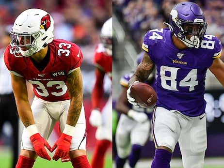 Cardinals' Byron Murphy Jr. to Man Controls for Suns Against Vikings' Irv Smith Jr.