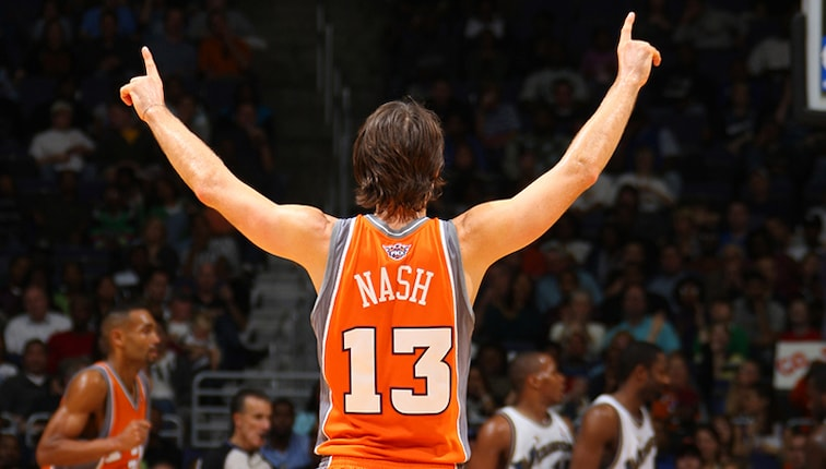 finest selection bfe71 07a1d Steve Nash: The Unlikely Journey of a Two-Time MVP | Phoenix ...