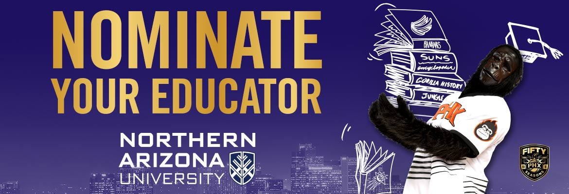 NAU Educator of the Month - Nominate your Educator!