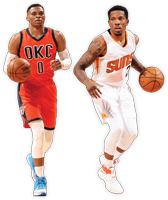 Russell Westbrook, Eric Bledsoe