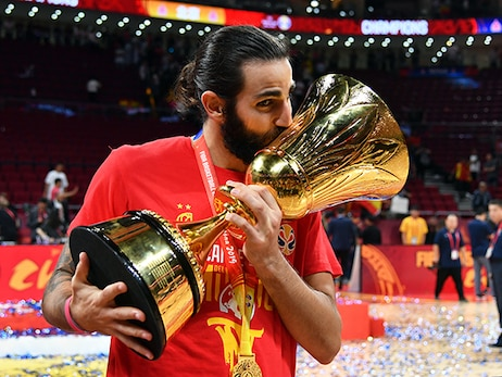 Ricky Rubio Named MVP, Wins Gold in 2019 FIBA World Cup