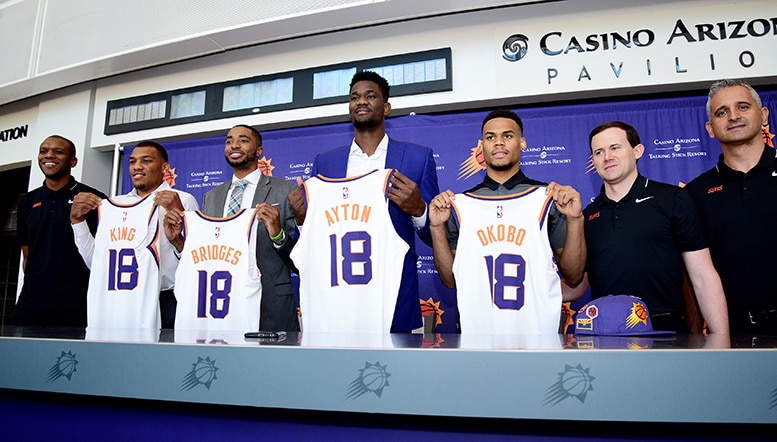 How Well Do You Know the Suns Rookies