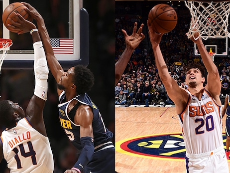 Diallo and Šarić Have Career Nights in Suns Loss to Nuggets