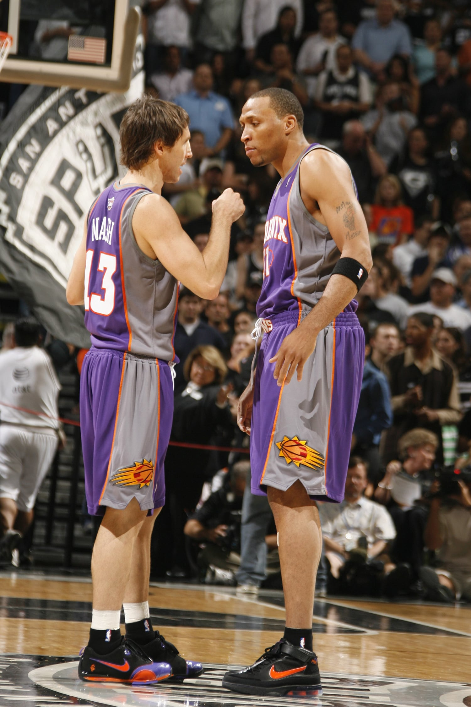 05 Phoenix Suns Roster Shawn Marion Retires