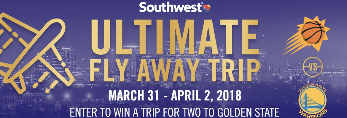 Win a fly away trip for two to Golden State
