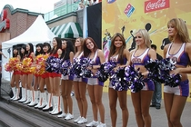 Suns Dancers in Korea 2007