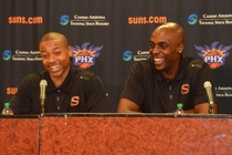 Isaiah Thomas and Anthony Tolliver