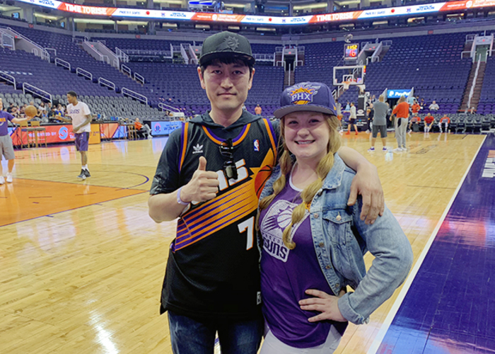 Suns Super Fan Travels Around the World to See Suns Live