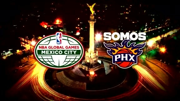The Suns Are Headed to Mexico