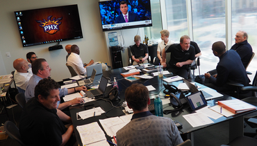 Look Inside the Suns Draft War Room