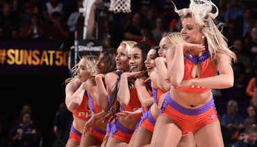 Best of the 2017-18 Suns Dancers