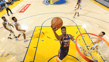 October 8, 2018: Suns at Warriors