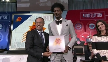 2018 NBA Draft Lottery Reveal, Suns Land First Overall Pick