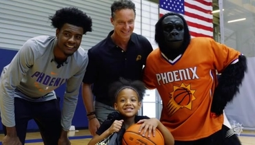 Josh Jackson Surprises a Fan With a Special Invitation to NBA Draft Lottery