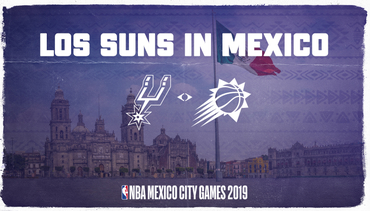 Phoenix Suns to be Featured in NBA Mexico City Games 2019