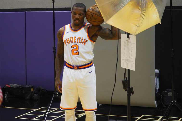 2017-18 Phoenix Suns Media Day with Eric Bledsoe