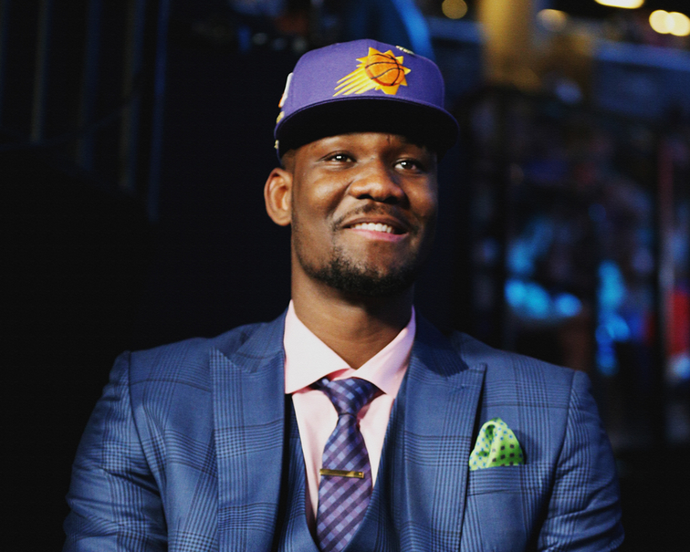 Deandre Ayton picked first overall by the Phoenix Suns