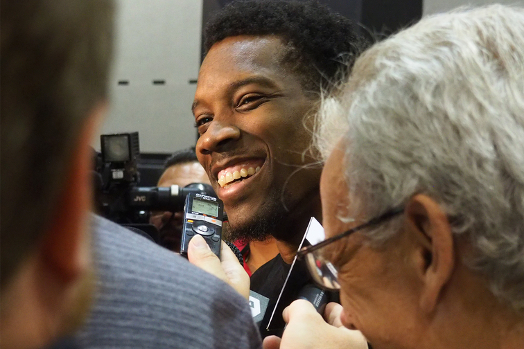 End-of-Season Suns Media Interviews Bledsoe