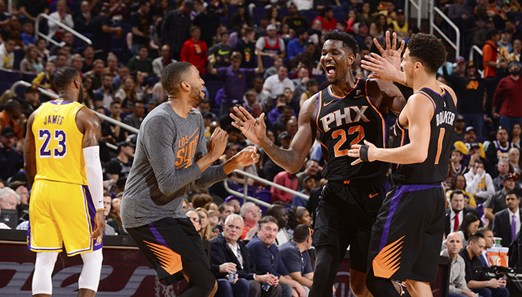 82178d6be Deandre Ayton Scores 26 Points in Suns Victory Over Lakers