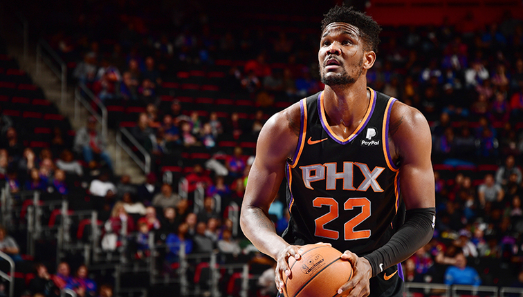 bd702df33a11 Deandre Ayton Scores Career-High in Suns Loss to Pistons
