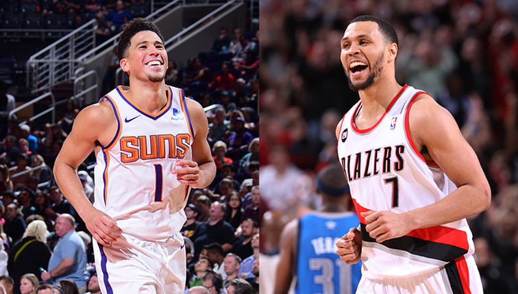 Devin Booker Brandon Roy