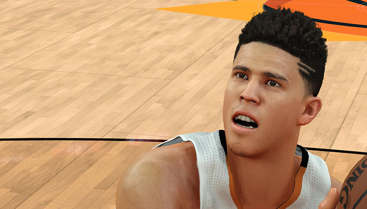 Devin Booker NBA 2k18 Rating