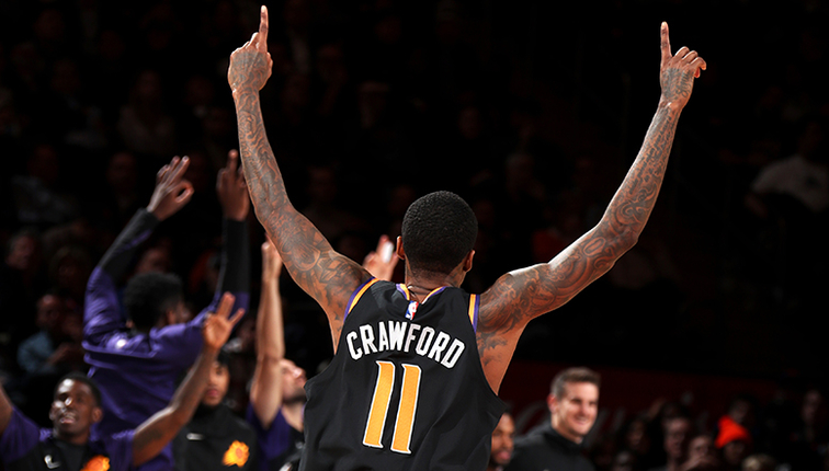 Crawford Notches Career-High 14 Assists in Suns Third Straight Win ... dd669ad18