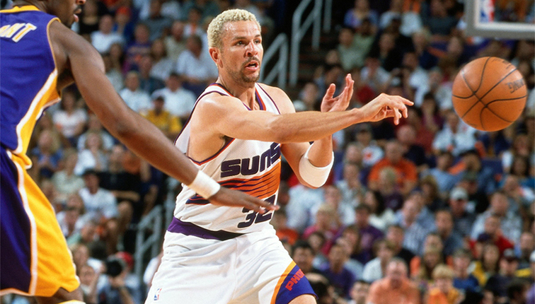 Basketball Hall of Fame inductees include Nash, Kidd, Hill, Driesell