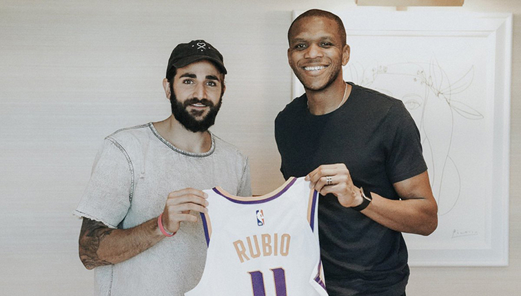Image result for ricky rubio suns