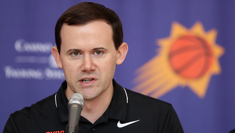 Phoenix Suns relieve Ryan McDonough as general manager