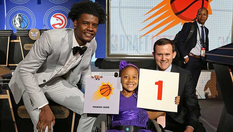 National Basketball Association draft lottery: Phoenix Suns get first pick