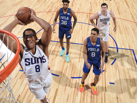 July 12, 2018: Summer Suns vs Sixers
