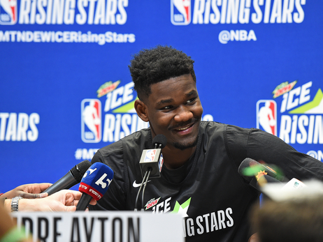 Deandre Ayton at 2019 MTN DEW ICE Rising Stars