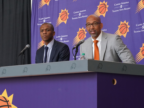 Intro Press Conference: Suns Head Coach Monty Williams