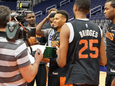 Suns Shootaround: October 23, 2018