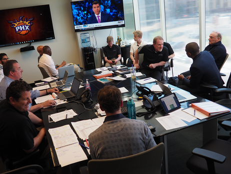 2017 Suns Draft War Room