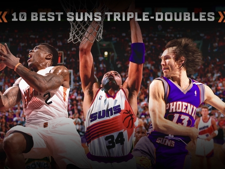 Ten Best Suns Triple-Doubles