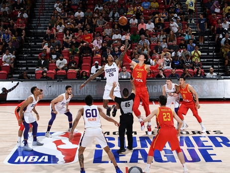 July 12, 2019: Summer Suns vs China
