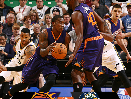 October 24, 2014: Suns at Jazz