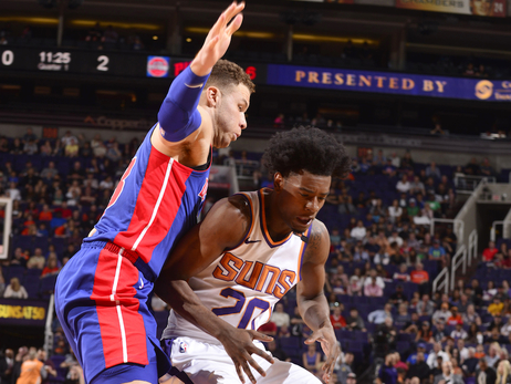 March 20, 2018: Suns vs. Pistons
