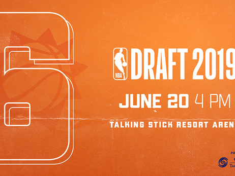 Suns Land Sixth Overall Pick in 2019 NBA Draft
