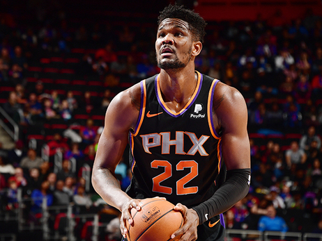 Deandre Ayton Scores Career-High in Suns Loss to Pistons