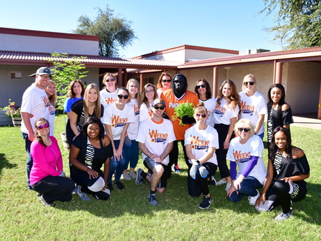 Phoenix Suns Week Of Service: Mullen Foundation Gardens Brought To You By Steward
