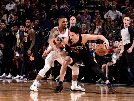 Booker Drops 30, Suns Fall to Blazers in Final Second