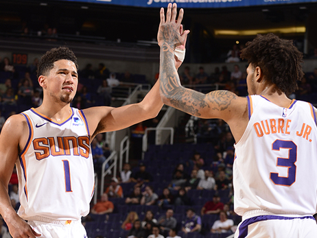 Booker Scores Career-High at Home in Victory Over Knicks