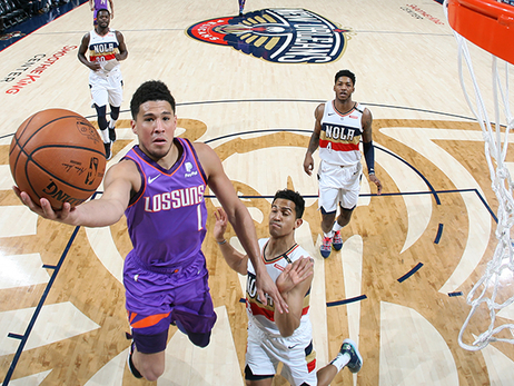 Booker & Oubre Combine for 72 in Overtime Victory vs Pelicans