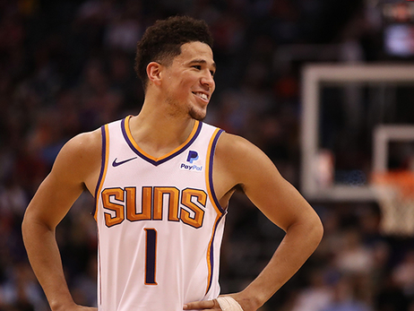 Devin Booker Chosen as Finalist for J. Walter Kennedy Citizenship Award