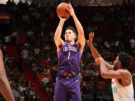 By the Numbers: Devin Booker's Rise to Stardom
