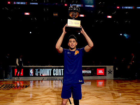 Booker Returns to MTN Dew 3-Point Contest to Defend Crown
