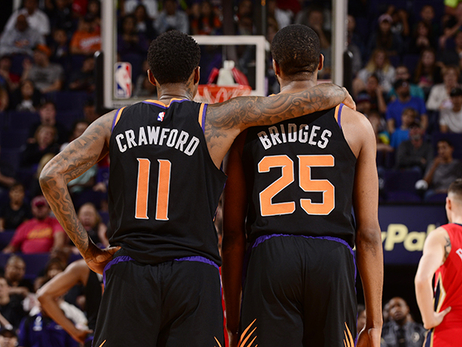 Suns Win Overtime Thriller in Final Home Game of the Season